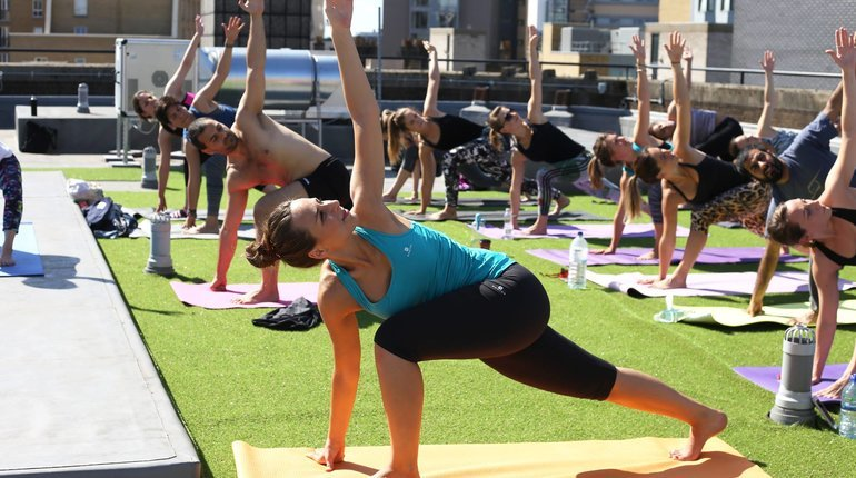 Best things to do in london in summer 2017 funzing for Places to do yoga