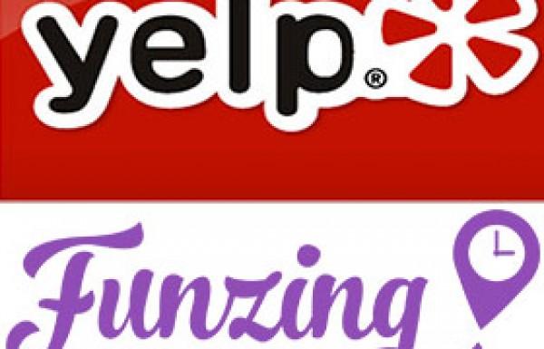 Yelp & Funzing Cooperation