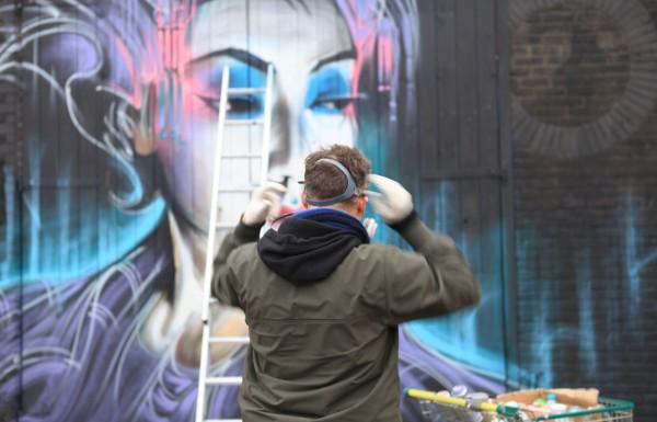 9 Vibrant street art works in Camden