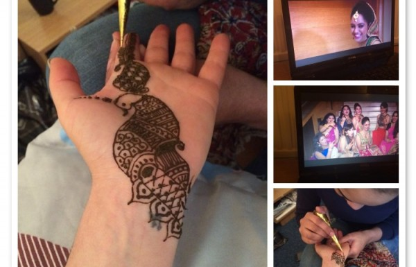 Trying Henna Tattos for the First Time
